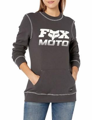 Fox Womens Women's Pullover Crew Fleece