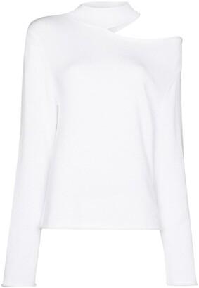 RtA Cut-Out Shoulder Sweatshirt
