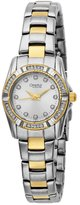 Bulova Caravelle by Women's 45L83 Crystal Accented Silver Dial Watch