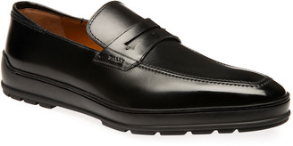 Bally Men's Relon Leather Penny Loafers