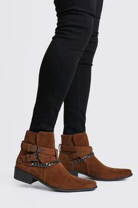 boohoo Bandana Chelsea Boot