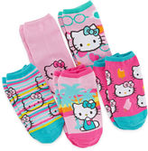 Hello Kitty 5-pk. No-Show Socks - Girls