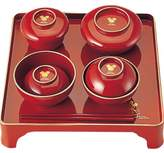 Disney character first dinner set, red (for boys)