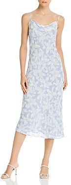 Joie Marcenna B Floral Print Cowl Neck Dress - 100% Exclusive