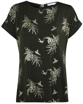Oasis Tropical Foil Print T-shirt