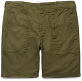 Engineered Garments Cotton-twill Shorts - Army green