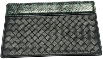 Bottega Veneta Black Leather Clutch bags