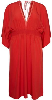Vero Moda Gali 3/4 Sleeve Midi Dress