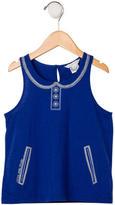 Little Marc Jacobs Girls' Printed Sleeveless Top