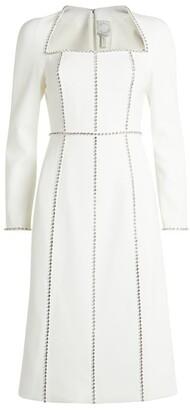 Huishan Zhang Embellished Eden Midi Dress