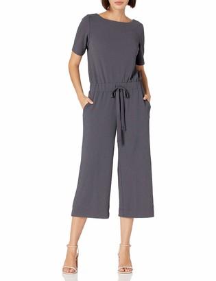 b new york Women's Short Sleeve Jumpsuit