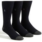 Polo Ralph Lauren Men's Ribbed Socks
