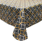 +Hotel by K-bros&Co Hotel Circles Peva Flannel-Back Tablecloth