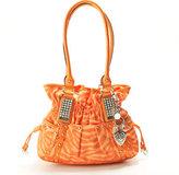 Kathy Van Zeeland Spotlight Belt Shopper-Tangerine