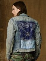 Denim & Supply Ralph Lauren Bandanna-Patch Trucker Jacket