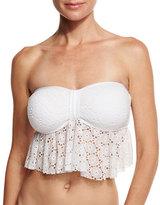 Ella Moss The Lover Bandeau Swim Top, White