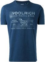 Woolrich faded logo T-shirt - men - Cotton - M