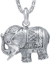JCPenney FINE JEWELRY Sterling Silver Elephant Pendant Necklace