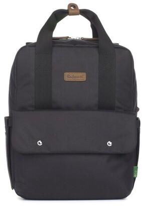 Babymel Georgi ECO Convertible Diaper Bag Backpack in Black