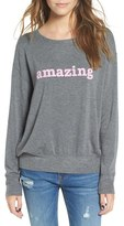 Daydreamer Women's 'Amazing' Graphic Sweatshirt
