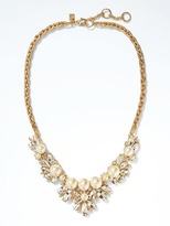 Banana Republic Pearl Heirloom Focal Necklace