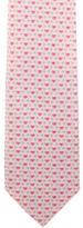 Salvatore Ferragamo Silk Floral Print Tie