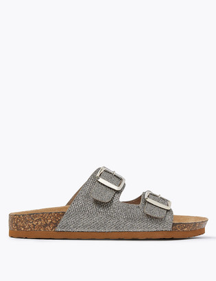 Marks and Spencer Buckle Footbed Sandal