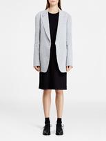 DKNY Single Button Notch Collar Jacket