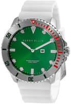 Perry Ellis Deep Diver Emerald Silicon Watch