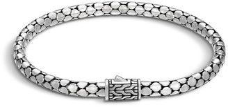 John Hardy Dot Silver 4.3mm Small Chain Bracelet