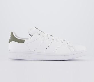 adidas Stan Smith Trainers White White Legacy Green