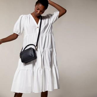 Love & Lore Love And Lore Braided Handle Crossbody Bag Black