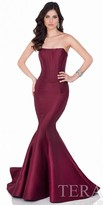 Terani Couture Two Piece Structured Corset Evening Gown