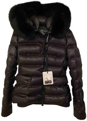 Moncler Grenoble Black Faux fur Coats