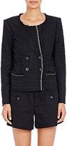 Etoile Isabel Marant Women's Lightweight Tweed Flenn Jacket-BLACK