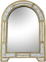 One Kings Lane Vintage Moroccan Handmade Mirror w/ Engravings