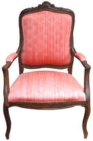 One Kings Lane Vintage Antique French Hand-Carved Fauteuil