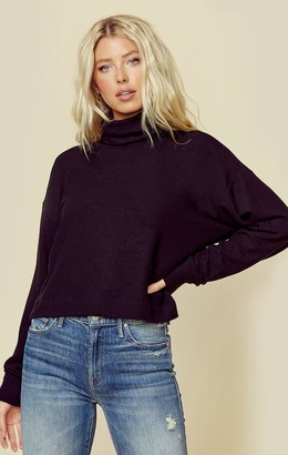 Lna Clothing Brushed Aliza Turtleneck