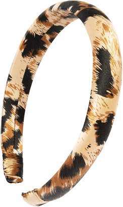 L. Erickson Silk Charmeuse Padded Headband