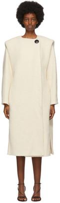 Isabel Marant Off-White Gelton Coat