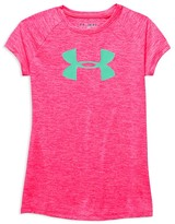 Under Armour Girls' Big Logo Tee - Sizes XS-XL