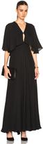 Rosetta Getty Silk Double Georgette Gown