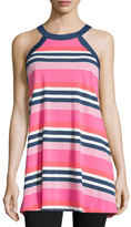 Kate Spade Multi-Striped Jersey Chemise
