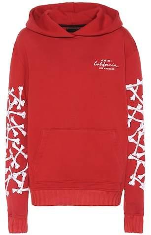 Amiri Printed cotton hoodie
