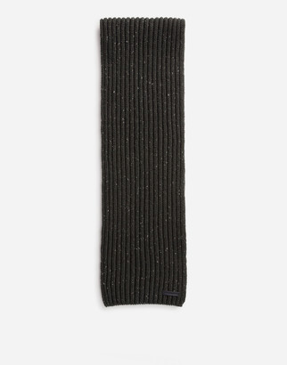 Dolce & Gabbana Ribbed Wool Scarf