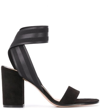 Gianvito Rossi Chunky Mid-Heel Sandals
