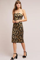 Tracy Reese Strapless Jacquard Dress
