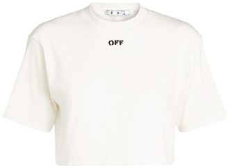 Off-White Cropped T-Shirt