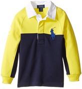 Polo Ralph Lauren Jersey Raglan Rugby (Toddler)