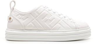 Fendi Rise Flatform Sneakers